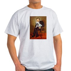 Lincoln's English Bulldog Light T-Shirt