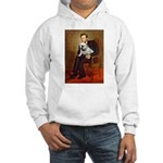 Lincoln's English Bulldog Hooded Sweatshirt