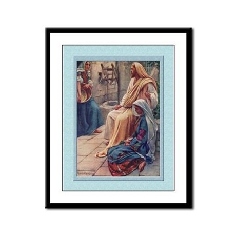 Martha and Mary -Copping- 9x12 Framed Print