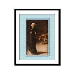 Daniel in the Lion's Den-Rivere-9x12 Framed Print