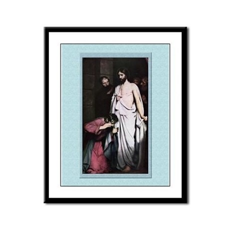 Doubting Thomas-Bloch-9x12 Framed Print