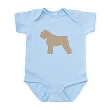 Fawn Bouvier Des Flandres Infant Bodysuit