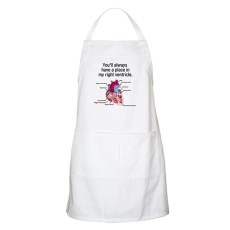 My Right Ventricle BBQ Apron