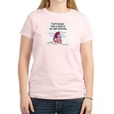 My Right Ventricle Women's Pink T-Shirt