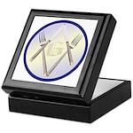 Masonic Knife and Fork Degree Keepsake Box