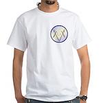 Masonic Knife and Fork Degree White T-Shirt