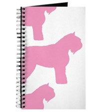 Pink Bouvier Des Flandres Journal