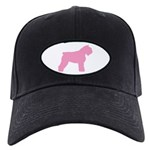Pink Bouvier Des Flandres Black Cap