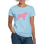 Pink Bouvier Des Flandres Women's Light T-Shirt