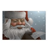 Thank You Santa Christmas Postcards (Package of 8)