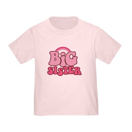 Retro Big Sis Toddler T-Shirt