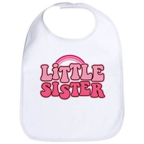 Retro Little Sis Bib