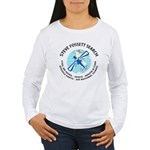 """Steve Fossett Search"" Women's Long Sleeve T-Shirt"