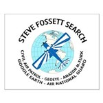 """Steve Fossett Search"" Small Poster"