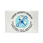 """Steve Fossett Search"" Rectangle Magnet (10 pack)"