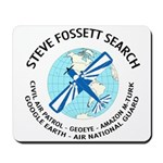 """Steve Fossett Search"" Mousepad"