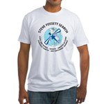 """Steve Fossett Search"" Fitted T-Shirt"
