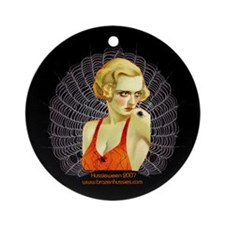 WELCOME to my Web ~ Ornament (Round)
