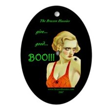 "Good ""BOO"" Oval Ornament"