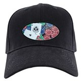 Bullets Poker Pocket Aces Baseball Hat