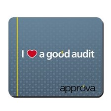 I Love a Good Audit Mousepad