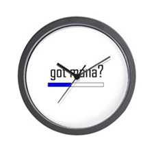 Got Mana? Wall Clock