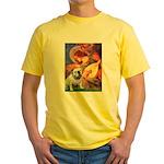 Mandolin Angel & English BD Yellow T-Shirt