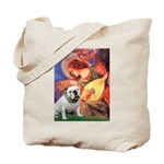 Mandolin Angel & English BD Tote Bag