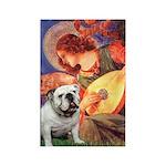Mandolin Angel & English BD Rectangle Magnet (10 p