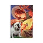 Mandolin Angel & English BD Rectangle Magnet
