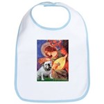 Mandolin Angel & English BD Bib