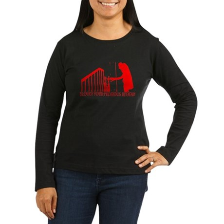 Nosferatu Womens Long Sleeve T-Shirt