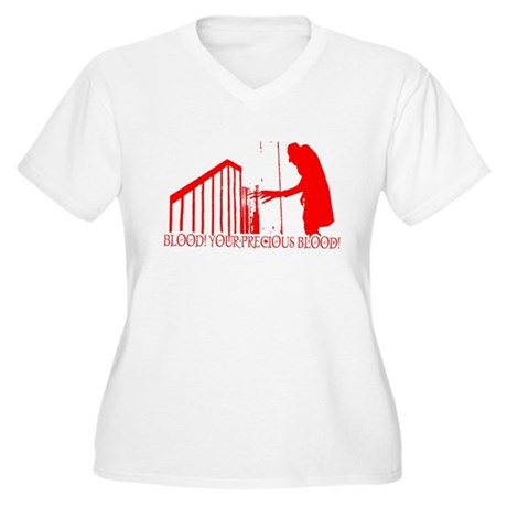 Nosferatu Plus Size V-Neck Shirt