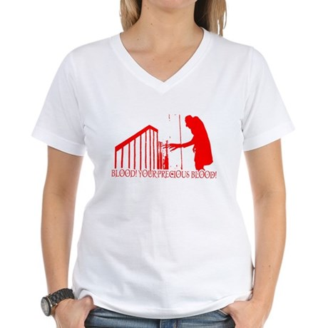 Nosferatu Womens V-Neck T-Shirt