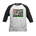 Lilies (#2) & Englsih BD (#9) Kids Baseball Jersey