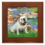 Lilies (#2) & Englsih BD (#9) Framed Tile