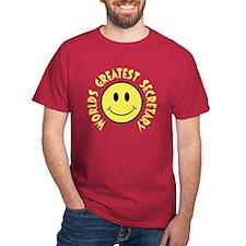 World's Greatest Secretary T-Shirt