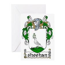 Sheehan Coat of Arms Greeting Cards (Pk of 20)
