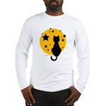 Black Cat/Moon Long Sleeve T-Shirt
