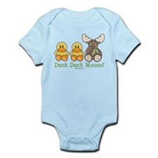 Funny Duck Duck Moose Infant Onesie