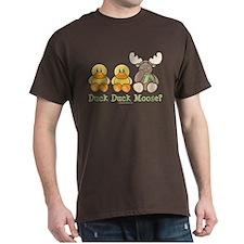 Funny Duck Duck Moose T-Shirt