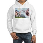 Creation / English BD (#9) Hooded Sweatshirt
