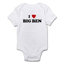 I Love BIG BEN Infant Bodysuit