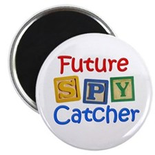 Future Spy Catcher Magnet