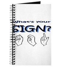 What's your sign Journal