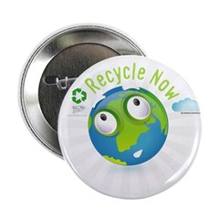 "Recycle 2.25"" Button (100 pack)"