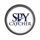 Spy Catcher Wall Clock