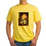 The Queen's English BUlldog Yellow T-Shirt