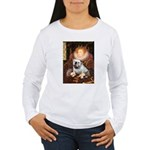 The Queen's English BUlldog Women's Long Sleeve T-