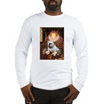 The Queen's English BUlldog Long Sleeve T-Shirt